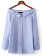 http://fr.shein.com/Blue-Boat-Neck-Stripe-Buttons-Front-Blouse-p-290677-cat-1733.html?url_from=fradplablouse160614204L&gclid=CI7ik9bo8dMCFUaeGwod7C8A1g