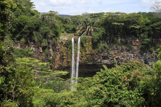 la cascade au sein du parc national des gorges de Rivière Noire