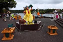 Ile maurice statue